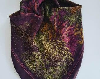 XYZ vintage scarf