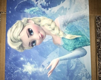 Imperfect *DISCOUNTED* Elsa Frozen Edible Image