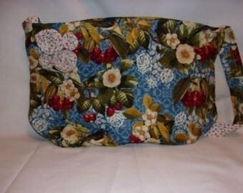 CLEARANCE - Cherry Print Tote Bag
