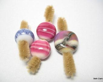 Destash Unknown Artisan Lampwork bead lot #1