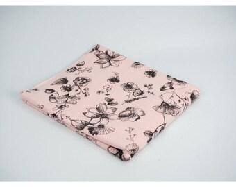 SommerSweat 'Flowers / melange light pink' * REST *.