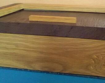 Oak and wenge box
