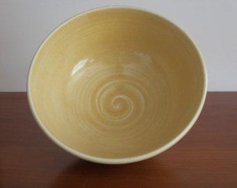 Large Soup Bowl Handmade Pottery Porcelain Stoneware One-Dish Meal Bowl Large Individual Salad Bowl White Kitchen Decor Holds 24 Ounces