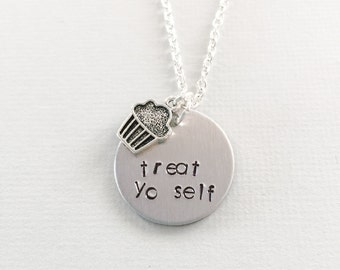 Treat yo self, parks & rec, parks and recreation, Amy Poehler, Donna and Tom, treat yo self day, treat yo self jewelry