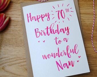 Personalised Birthday Card - Mum - Friend - Sister - Niece - Nan - 18th 21st 30th 60th 70th 80th