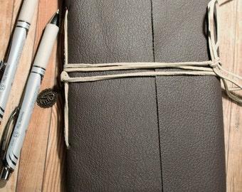 Leather Journal//Handmade Journal
