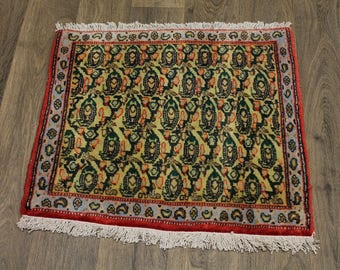 Great Allover Design Plush Bidjar Saneh Persian Rug Oriental Area Carpet 2'2X2'4