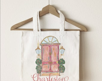 Charleston Doors Tote