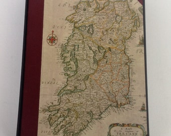 iPad Map Case with old Map of Ireland