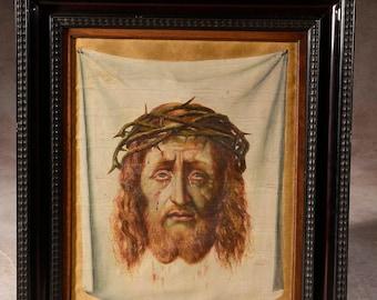 Veronica's veil (J. Segers) painting , Malerei,peinture