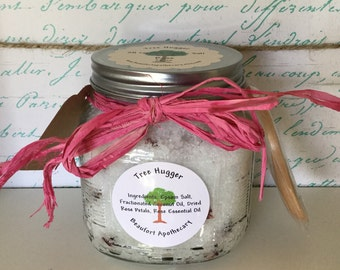 Epsom Salt Salt Scrub: rose 20oz