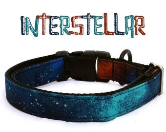 Interstellar Dog Collar   Space Dog Collar   Astronomy Dog Collar   Science Dog Collar   Large Dog Collar   Boy Dog Collar   Geek Dog Collar