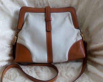 Vintage Summer/Fall Shoulder Handbag (Garfinckel's Washington D.C.)
