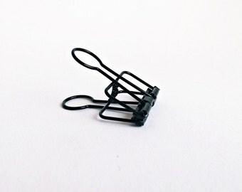 5x brackets black 5,7cm x 3,3cm x 1,0cm