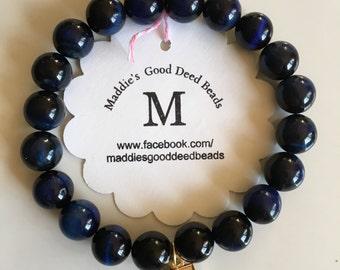 Blue Tiger-Eye Million Women Mentor Bracelet