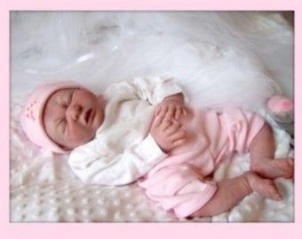 Alyssa by Angela Kassis reborn doll kit
