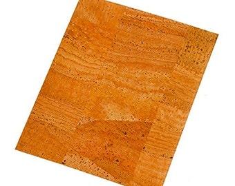 Leaf paper from Cork 20 x 25 cm - leaf - paper mosaic Cork - Cork 3370001
