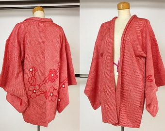 Japanese K224  Soshibori Haori Kimono Jacket