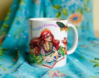 Mug - Beautiful Dreamer/ Rosabella Beauty / EAH