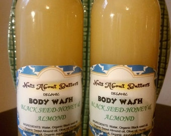 Blackseed-Honey & Almond Body wash