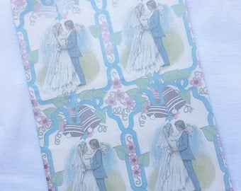 Vintage | Wedding | Wrapping Paper #10