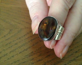 Jay King Mexican Agate Ring
