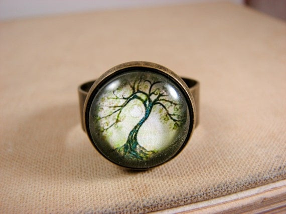 tree of ring wiccan jewelry casual jewelry tree ring