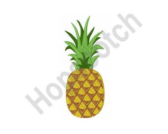 Pineapple - Machine Embroidery Design