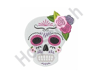 Day Of The Dead - Machine Embroidery Design