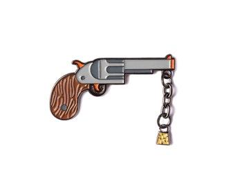 Pop Gun Lapel Pin