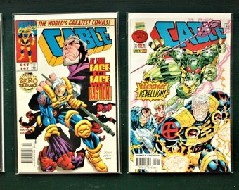 Marvel Comics Cable Lot of 6 - Issues 7, 47, 98, and 39
