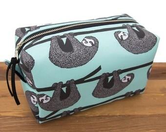 Sloth Bag - Funny Makeup Bag Large - Toiletry Case - Makeup Storage - Makeup Case - Cosmetic Bag - Toiletry Bag - Makeup Bag - Sloth #11