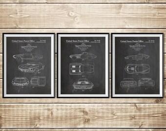 Chevrolet Decor, Patent Print Group, Sports Car Poster, Corvette Decor, Sports Car Patent, Corvette Art, Corvette Patent, INSTANT DOWNLOAD