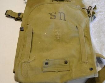 WWII U.S. Military Haversack / Knapsack / Backpack