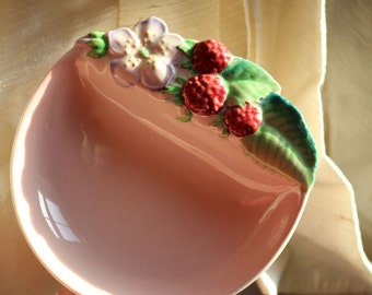 SALE Vintage Carlton Ware Strawberry Jam Dish