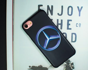 Mercedes case iPhone 7, iPhone 6 mercedes, iPhone 5s case, iPhone 6 Plus mercedes, iPhone SE Mercedes case. LCD screen protector FREE!