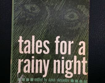 Tales For A Rainy Night Mystery Writers of America Anthology 1961