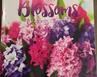 Wall Calendar 2017 Blossoms - Flowers