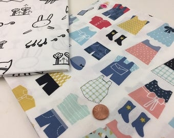 Dress Me Up for the Playground, by Wee Gallery, for Dear Stella, Half Yard Bundle, fabric bundle