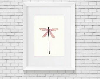 Dragon fly - Print