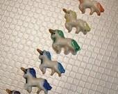 Unicolts - Mini Rainbow Unicorn Soaps - Tiny Unicorn Soaps - Tiny Soaps - Mini Soaps - Rainbow Unicorn - Party Favors - Gift Idea - Fun Gift