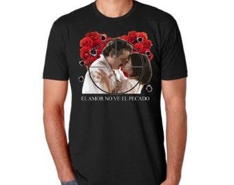 Pablo Escobar Y Tata, Blind Love, Couple, Netflix, Narcos T-shirt, Pablo Escobar shirt