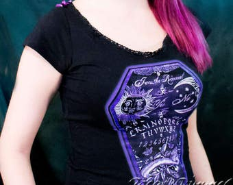 Jacq the Rimmel Ouija T-shirt laced