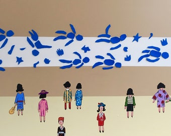 The Matisse Swimmers
