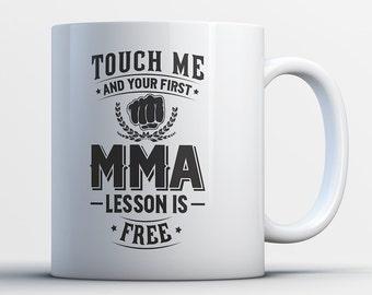MMA Coffee Mug - Martial Arts Gifts - Buy Mixed Martial Arts Mug - Mixed Martial Arts Gifts For Him and Her - MMA