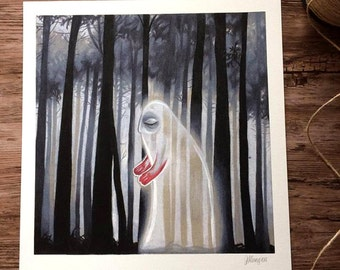 Misguided ghost // art print