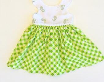 Size 1 vintage upcycled retro Tea Party Dress