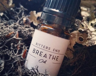 BREATHE | Essential Oil, Diffuser Blend, Aromatherapy, Anxiety Blend, Gothic Scent, Witch, Vegan, Handmade, Wellness, Sage, Spring, Easter