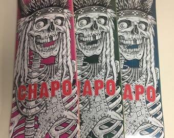Bryant Chapo Navavjo Nation first Pro model skate deck