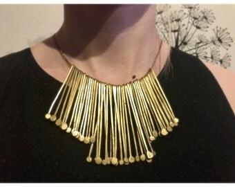 Golden Statement Necklace